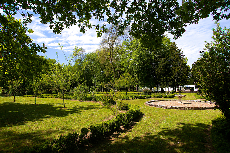 Le Parc de la Fontaine est un magnifique exemple d'association du jardin à la française et du jardin à l'anglaise.
