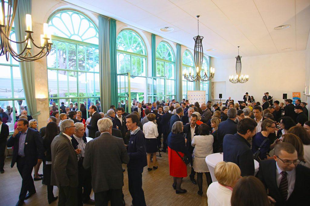 Orangerie du Château aménagé pour une convention d'entreprise